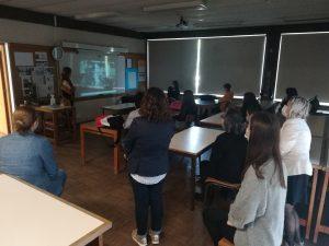Visita da Escola Secundária Alexandre Herculano